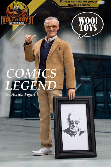 Lançamento Stan Lee Woo Toys Comic Legend (estilo Hot Toys)