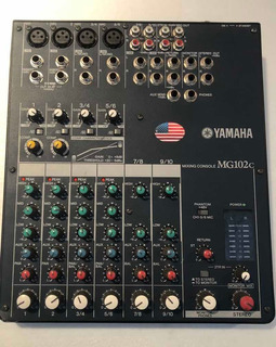 Yamaha Mg102c 10 Canales Eliminador Original