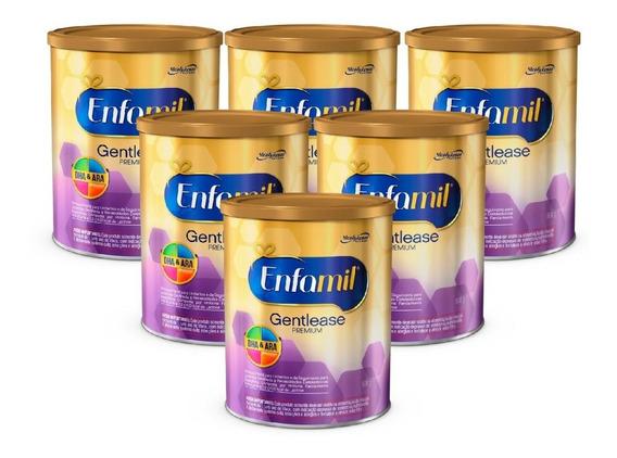 Fórmula Infantil Enfamil Gentlease Premium 800g - 6 Un.