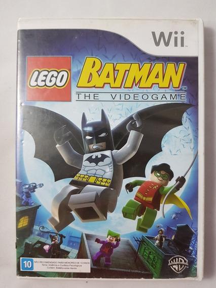 Lego Batman The Videogame Wii Mídia Física Pronta Entrega