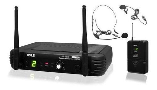 Sistema De Microfonos Inalambricos Pyle De 8 Canales Siste
