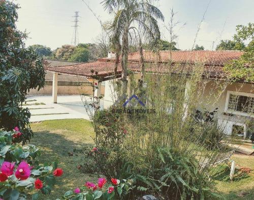 Chácara Com 4 Dormitórios À Venda, 1000 M² Por R$ 975.000,00 - Estância Das Flores - Vinhedo/sp - Ch0068