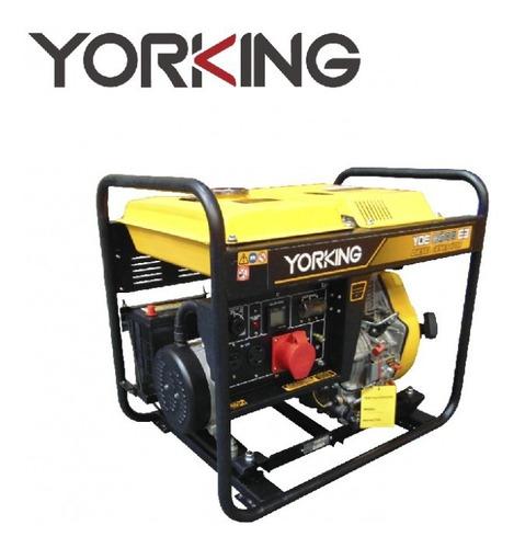 Planta Electrica O Generador Yorking De 7,0 Kw  Motor Diesel