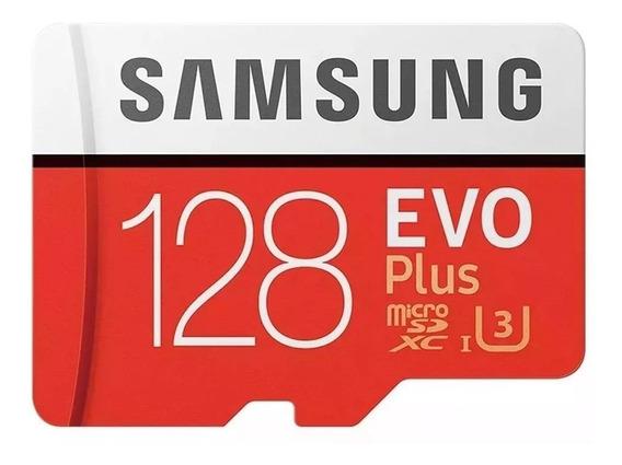 Cartão De Memoria Samsung Micro Sd Evo Plus 128gb U3 4k
