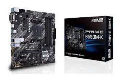 Imagen 1 de 4 de Asus Prime B550m-k P/ryzen