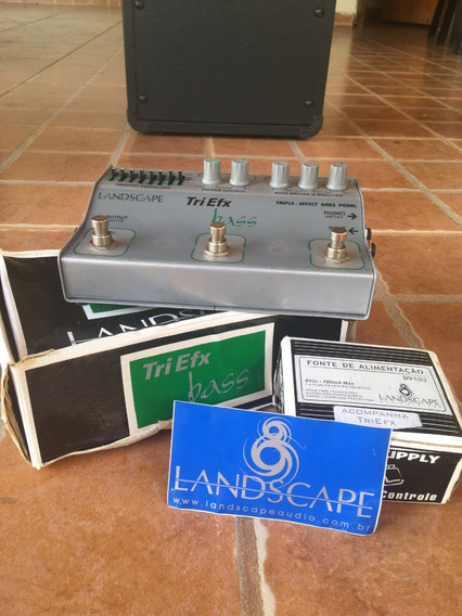Pedal Triefex - Eq + Chorus + Drive - Landscape Baixo