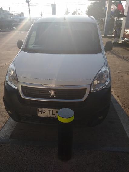 Peugeot Partner 1.6 Hdi 2016 Blanco