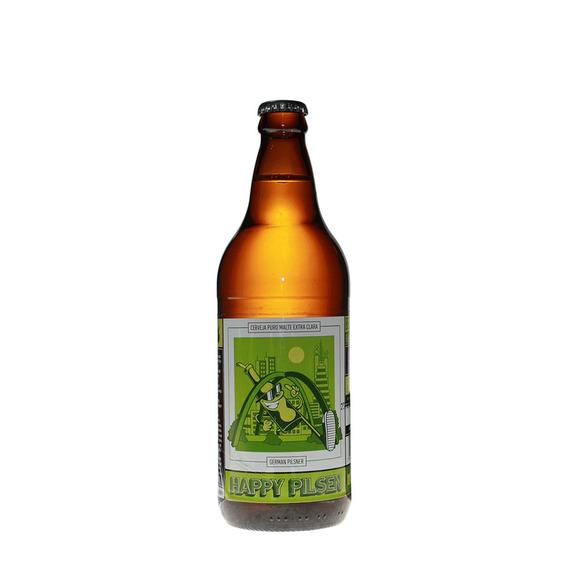 Cerveja Happy Brew Pilsen 600ml