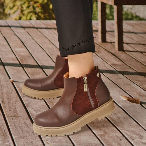Botas Borcegos Mujer Heyas Serapis Scarpanno Zapatos
