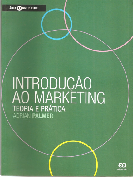 Livro Introdução Ao Marketing Teoria E Prática Adrian Palmer