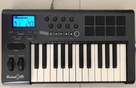 Axiom 25 M-audio (zerada E Com Semicase)