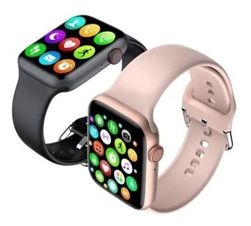 Imagem 1 de 2 de Relógio Smartwatch Tela Infinita W26 Atende E Faz Ligações