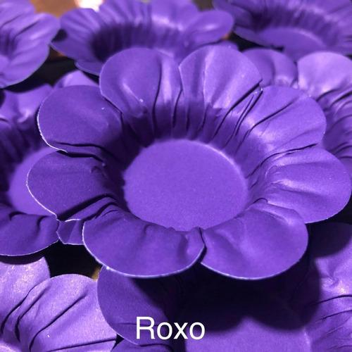 Imagem 1 de 10 de 300 Forminhas Para Doces Casamento Mod Flor