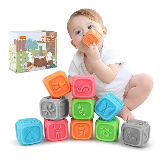 Juguete Cubos Dinámicos Beb Desarrollo Cognitivo Interacción
