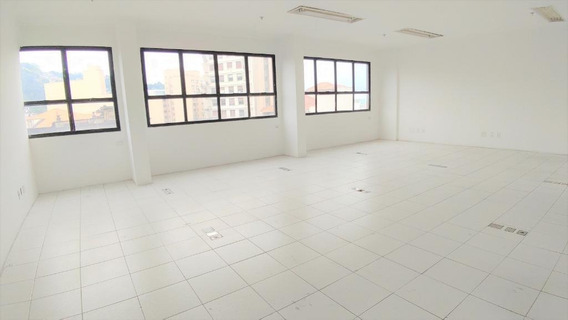 Sala Em Centro, Santos/sp De 77m² Para Locação R$ 1.950,00/mes - Sa305773