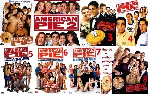 American Pie - Coleção 8 Filmes / Frete Gratuito