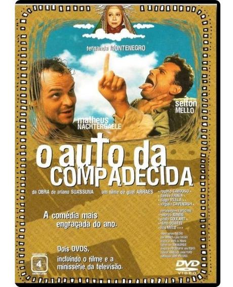 Dvd O Auto Da Compadecida - Filme + Minissérie Original