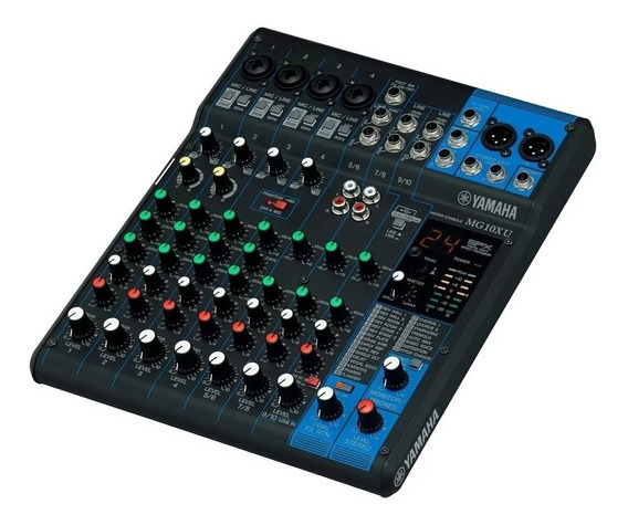 Mesa De Som Yamaha Mg10xu C/ Efeito/usb