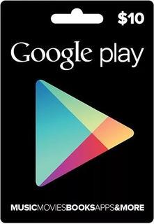 Tarjeta Google Play 10 Usd - Free Fire