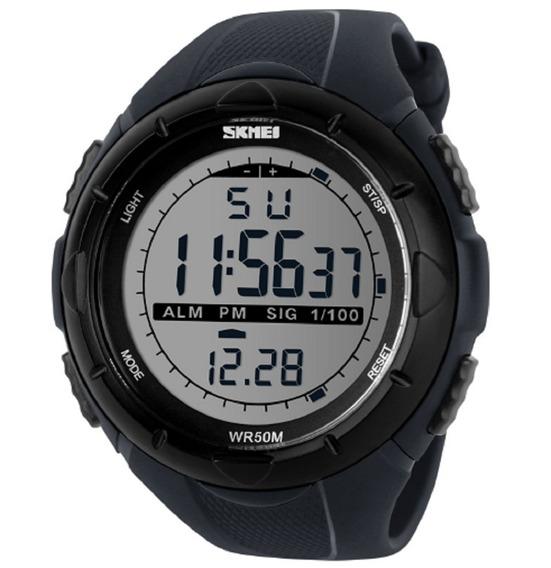 Relógio Digital Skmei Sshock Black 1025 Esporte
