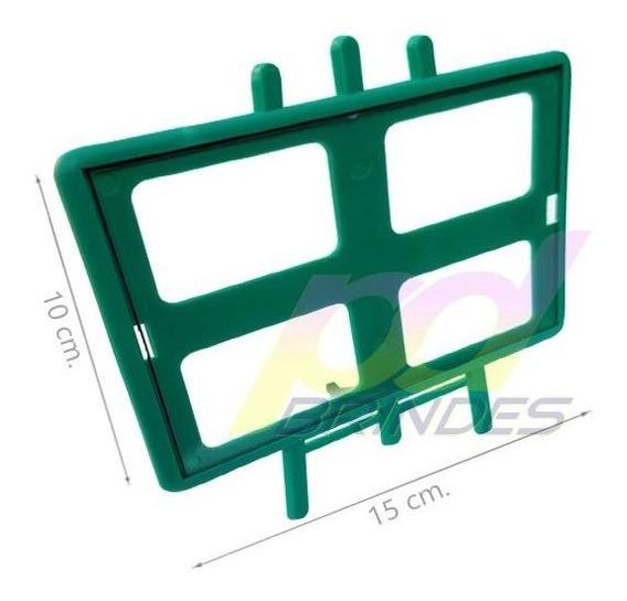 Porta Retrato Horizontal Para Personalizar Verde - 10 Un.
