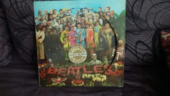Lp The Beatles - Sgt. Peppers # Ediçao Picture, Raridade!