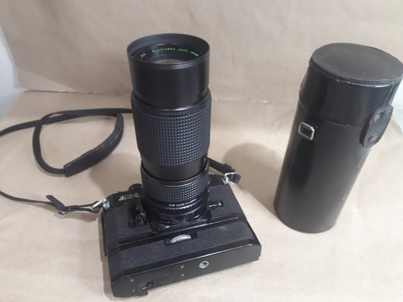 Câmera Fotográfica Canon Ae-1 Lente 80 - 205mm No Estado