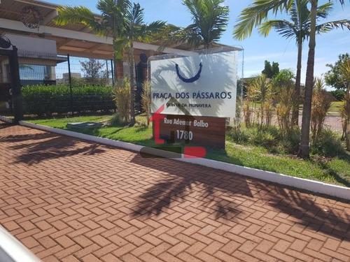 Terreno No Quinta Da Primavera - Terreno Em Condomínio A Venda No Bairro Condomínio Guaporé 1 - Ribeirão Preto, Sp - Pro68802