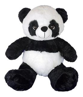 Urso Panda De Pelúcia 30cm - Sentado
