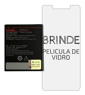 Bateria Lenovo Vibe K5 C2 Original + Película Vidro Brinde