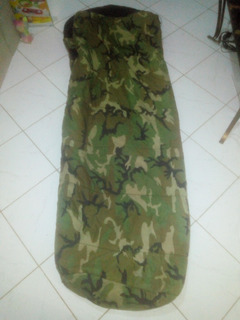 Saco De Dormir Americano Militar Camuflado Original