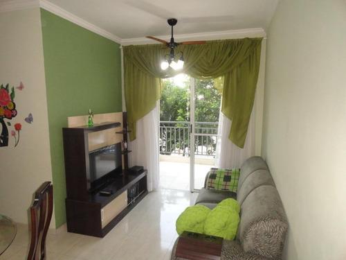 Apartamento À Venda, 53 M² Por R$ 240.000,00 - Areia Branca - Santos/sp - Ap3966
