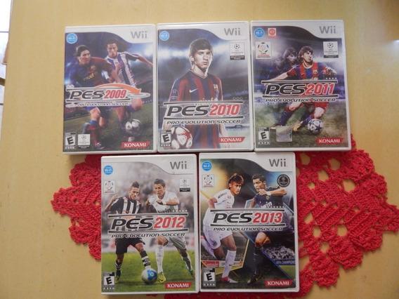 Coleção Pes 2009+2010+2011+2012+2013 - Wii Wiiu