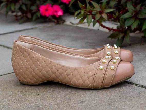 Sapato Feminino Tamanho Grande Cap Toe Dm Extra Matelassê B
