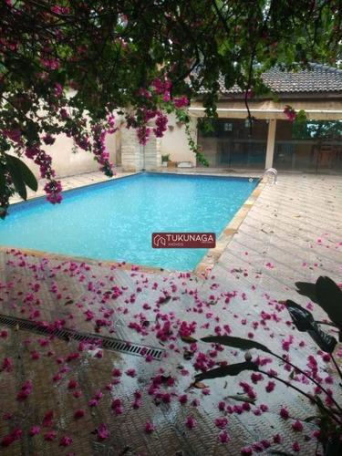 Chácara Com 5 Dormitórios À Venda, 2040 M² Por R$ 1.800.000 - São Jorge- Arujá/sp - Ch0110
