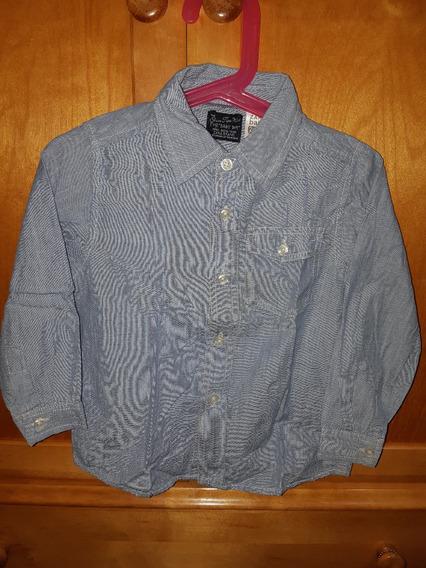 *zara* Camisa Para Niño Talle 2 Años
