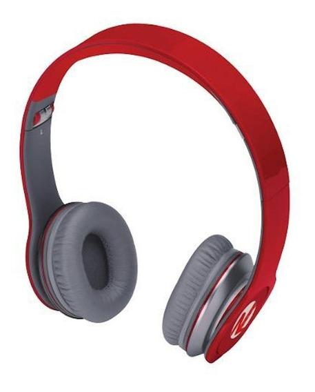 Fone Ouvido Headset Barato Headphone Dobravel Vermelho