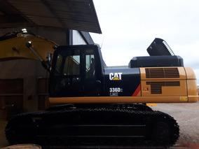 Excavadora Caterpillar 336d2lme Ano 2016 3.372hs