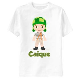Camisa Infantil - 1 Ano Personalizada Qualquer Tema! Chaves