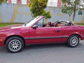 Dodge Conversivel 1988 Automatico Troco Por Antigo R$ 45 000