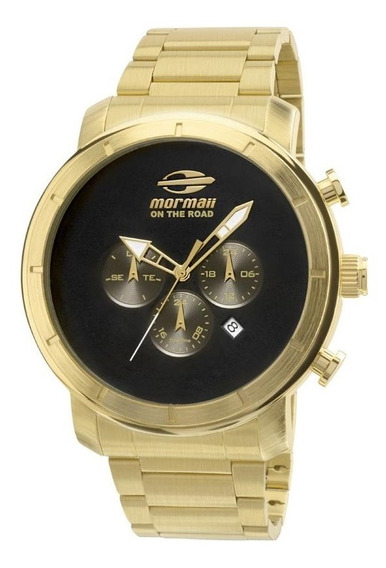 Relógio Mormaii Masculino Dual Time Mojp25cak/3c