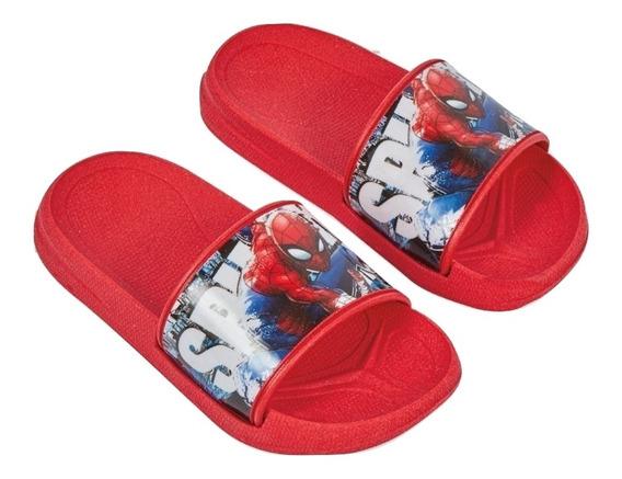80172dtt Chanclas Sintetico Liso Spiderman