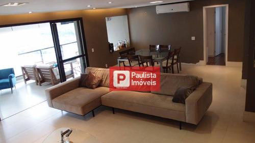 Apartamento Com 3 Dormitórios Para Alugar, 165 M² Por R$ 8.598,00/mês - Granja Julieta - São Paulo/sp - Ap26810