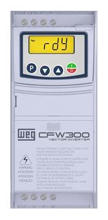 Inversor Frequência Weg Cfw300 5cv 15,2a 220v Trifásico