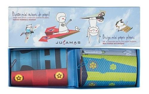 Imagen 1 de 5 de Diseña Mini Aviones De Papel Set Arte Crear Manualidades Diy