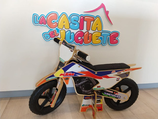 Bicicleta Madera - Réplica De Moto Real - Aprendizaje