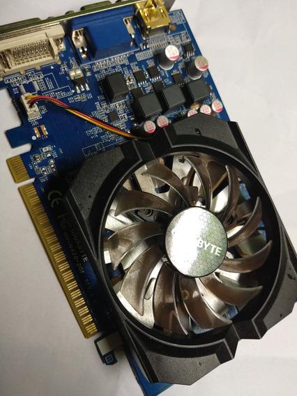 Placa Gigabyte Nvidia N420-2gi Ligando Mas Sem Imagem ...o