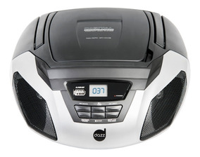 Rádio Cd Player Portátil Boombox Dazz Cd/usb/sd/am/fm/aux