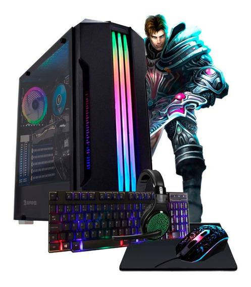Pc Gamer Core I5 Turbo 3,4ghz 8gb Ssd240 Gt710 2gb Kit Gamer