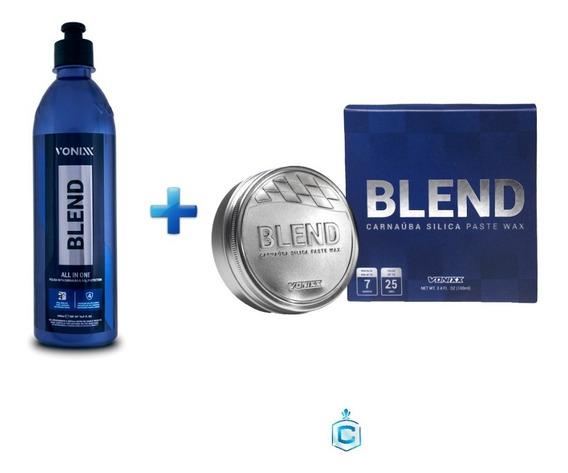 Blend All In One Novo Polidor Etapa Única+blend 100ml Vonixx